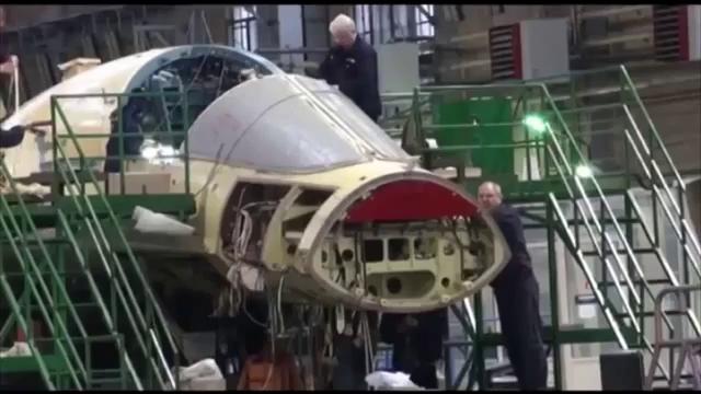 Quá trình sản xuất máy bay Su-34 của Nga