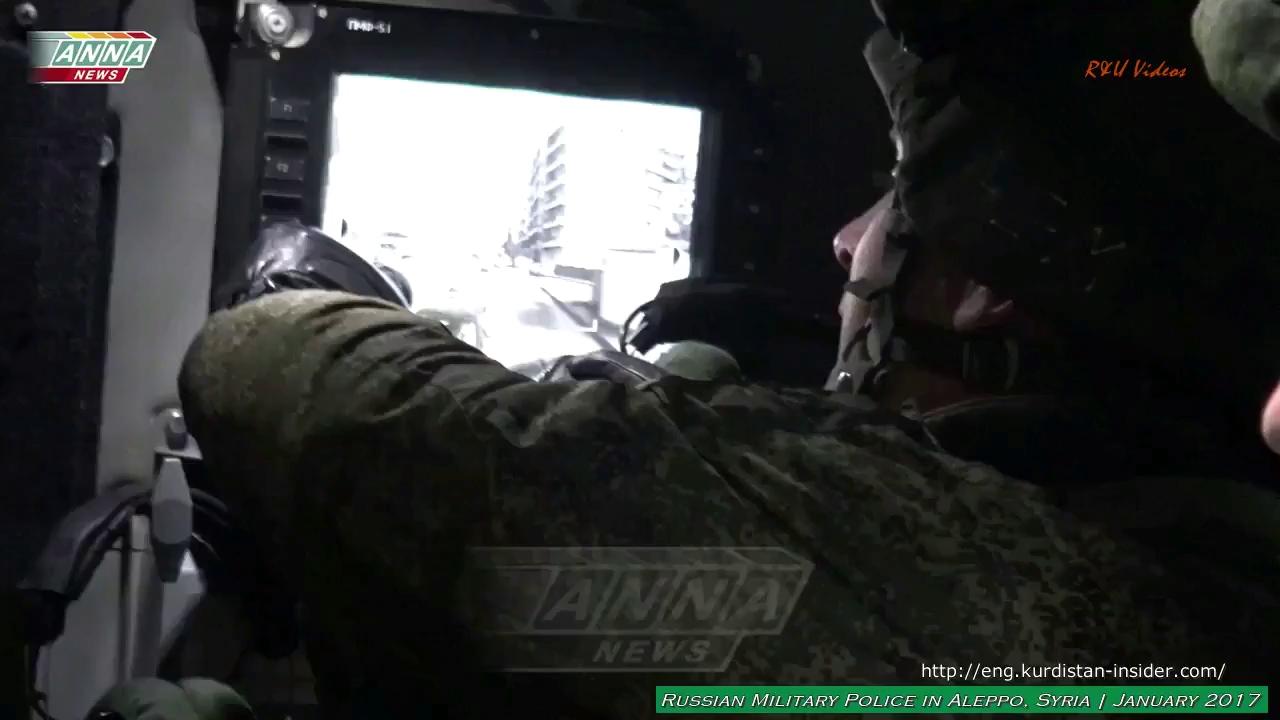 Quân cảnh Nga hoạt động tại Aleppo, Syria