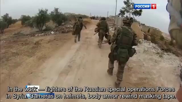 Clip đặc biệt về hoạt động của đặc nhiệm Nga trên chiến trường Syria