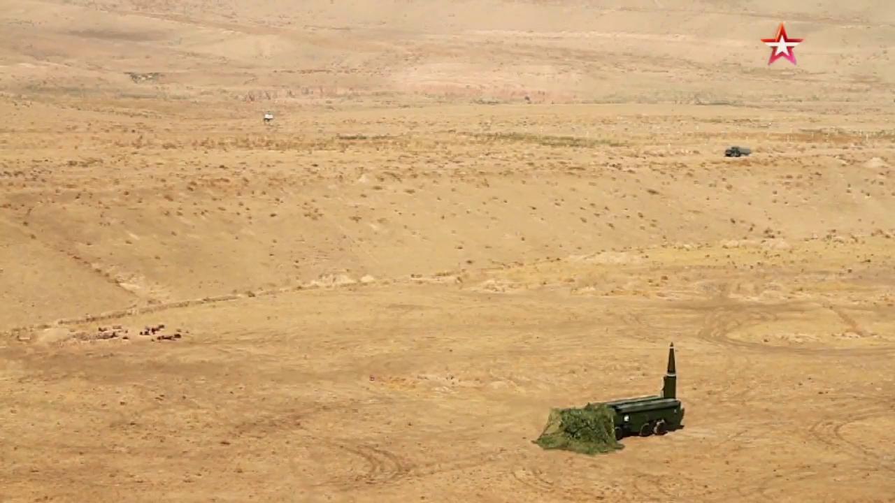 Nga bắn tên lửa Iskander-M mới cải tiến