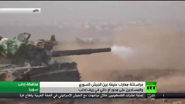 Quân đội Syria tiếp tục tiến công trên vùng nông thôn khu vực chiến trường Idlib, Aleppo, Hama