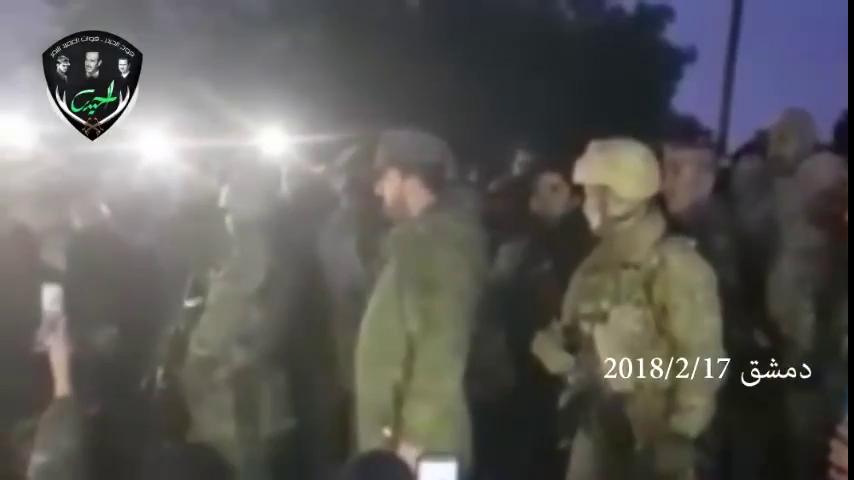 Thiếu tướng Suheil Al-Hassan, tư lệnh trường Lực lượng Tiger trước cuộc tấn công vào chiến trường Đông Ghouta, Damascus