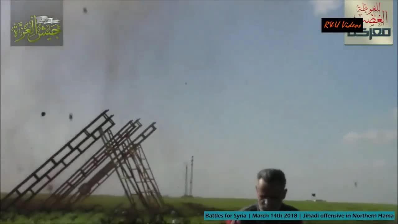 Tổng quan tình hình chiến sự cuộc chiến nhanh chóng ở miền bắc Hama