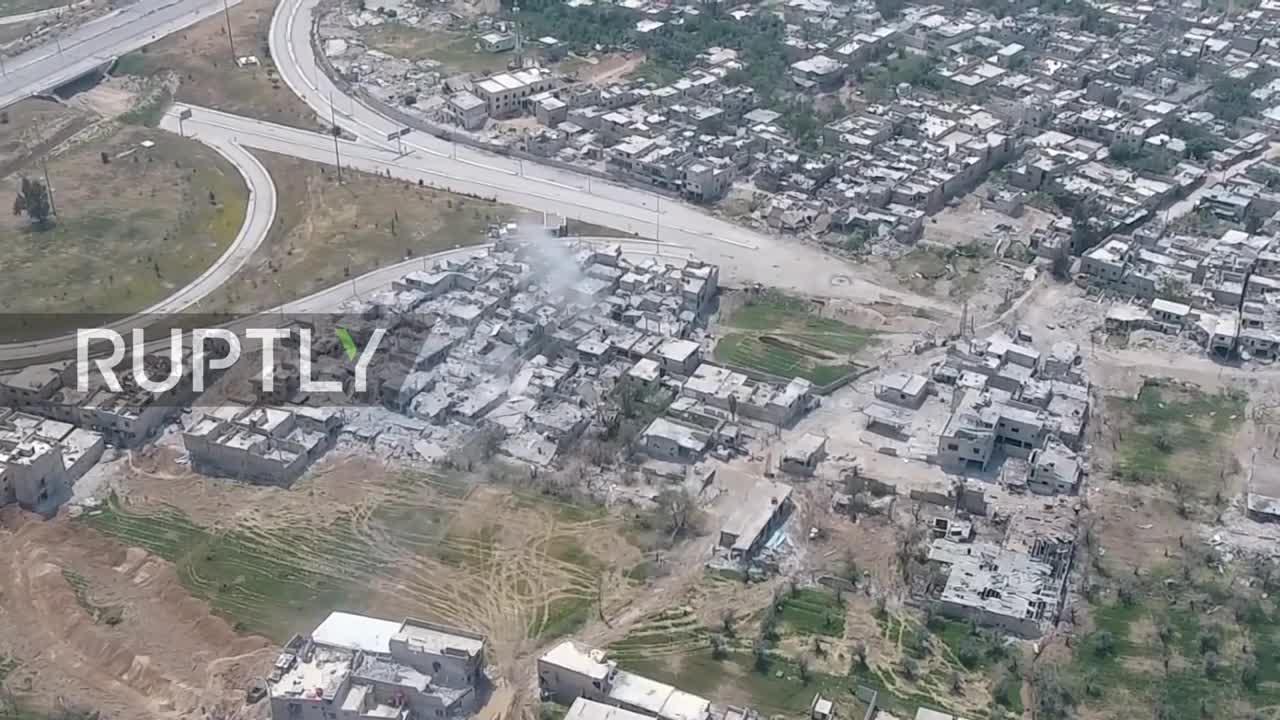 Cuộc chiến kinh hoàng của quân đội Syria trên chiến trường Đông Ghouta