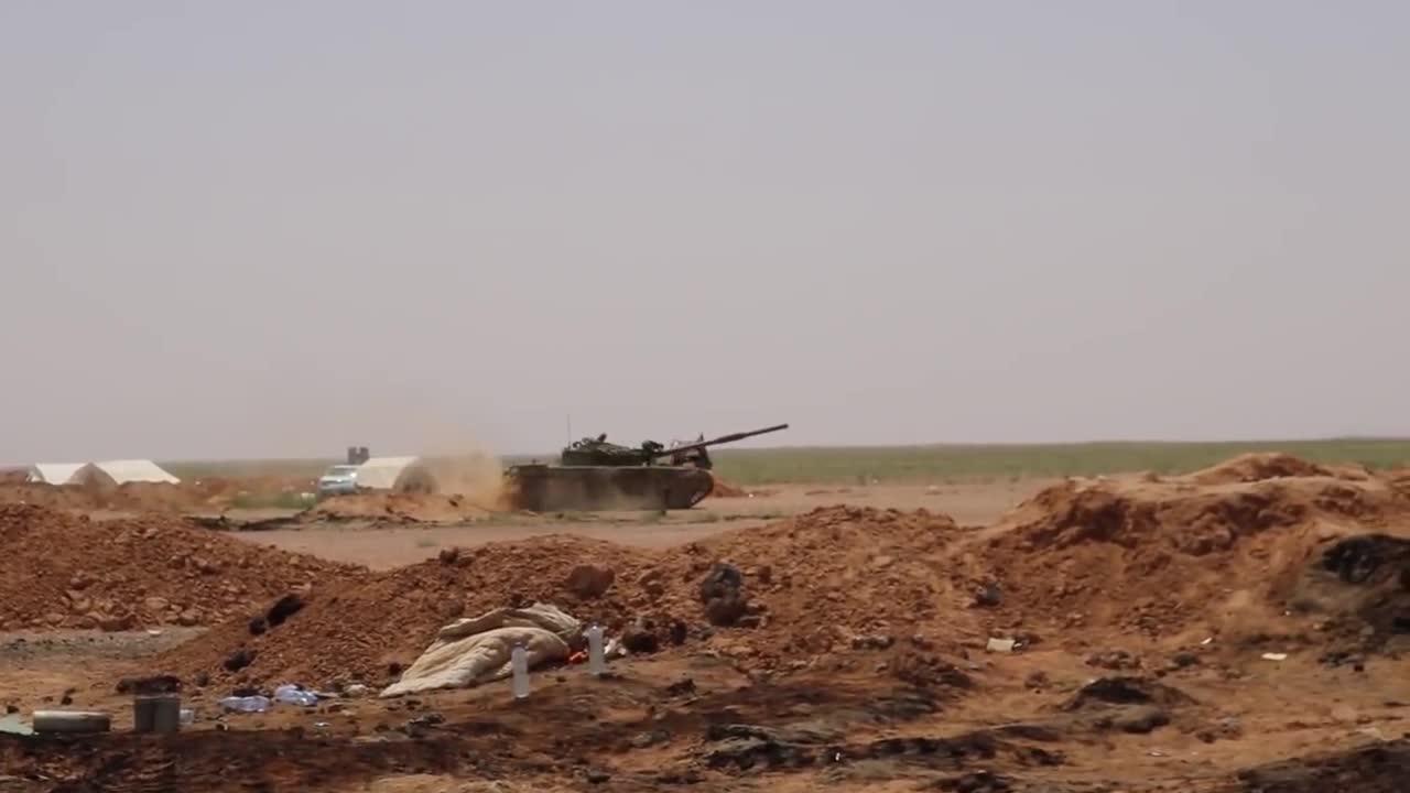 Quân đội Syria bẻ gáy cuộc tấn công của IS trên sa mạc tỉnh Homs