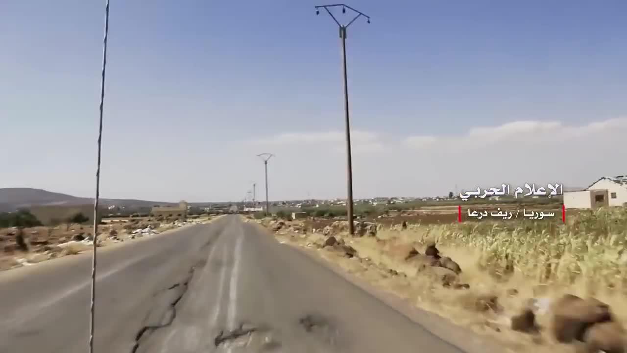 Các đơn vị vũ trang Syria giải phóng liên tiếp 3 thị trấn giap ranh Daraa - Quneitra.