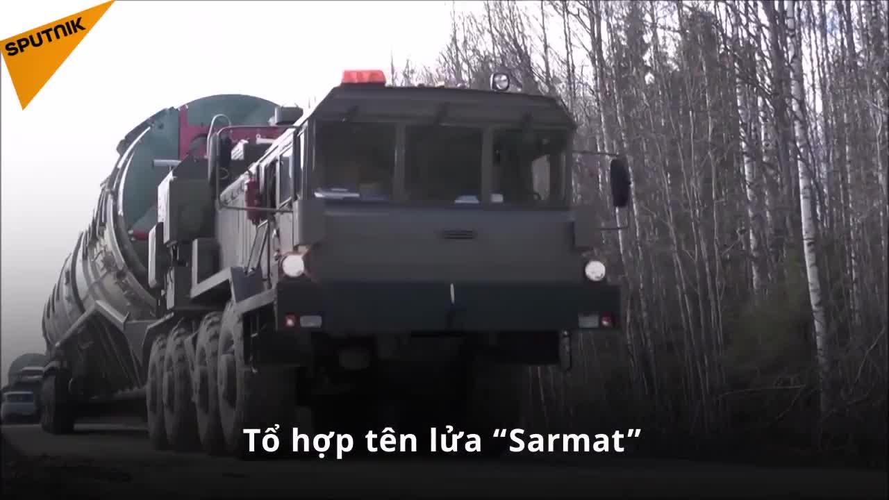 Tổ hợp tên lửa Sarmat