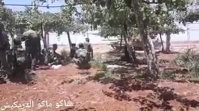 Thời khắc kinh hoàng, 3 tướng Syria cùng tử trận vì trúng đạn pháo phiến quân