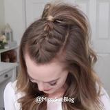 Hướng dẫn kiểu tết tóc tạo mẫu cực đơn giản và xinh xắn cho các cô gái!