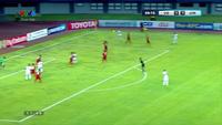 Alzu'bi nâng tỉ sổ lên 2-1 cho U19 Jordan trước U19 Việt Nam