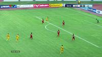 Thủ môn Y Eli Nie cứu thua xuất sắc ở phút 43