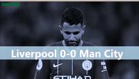 Nhìn lại trận đấu chia điểm giữa Liverpool và Man City