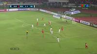 Văn Lâm cản phá xuất sắc cú sút xa Bo Hlaing ở phút thứ 51