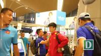 Đội tuyển Việt Nam rời Malaysia trở về nước