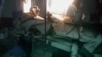 Cận cảnh xác tàu chiến Na Uy bị đắm sau cú va chạm tàu dầu