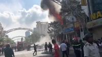 Đang cháy lớn tại trung tâm Đà Nẵng