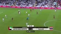 Thitipan gỡ hòa cho Thái Lan trước UAE ở phút 41