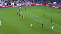 Mabkhout mở tỉ số cho UAE trước Thái Lan ở phút 8