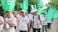 Đoàn viên, thanh niên Hội An diễu hành tuyên tuyền xây dựng Hội An – thành phố du lịch không khói thuốc lá