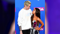 Ariana Grande sánh đôi cùng Pete Davidson tại lễ trao giải MTV VMAs 2018