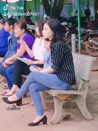 Chỉ 12 giây bị quay lén cô giáo Bình Phước bất ngờ nổi tiếng vì quá xinh (nguồn: Đặng Huỳnh Ngọc Hương)