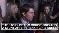 "Tom Cruise chia sẻ về tai nạn vỡ mắt cá khi quay ""Mission: Impossible - Fallout"""