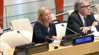 Các nhà ngoại giao Cuba đập búa, la ó phản đối Mỹ tại Liên Hợp Quốc