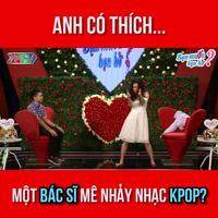 Clip nữ bác sĩ xinh đẹp thể hiện màn vũ đạo trên nền nhạc Kpop