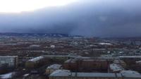 """Tuyết rơi như sóng thần """"càn quét"""" thành phố Nga"""