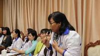 Cô giáo Phạm Thu Thanh chia sẻ về khó khăn trong giáo dục học sinh khuyết tật.