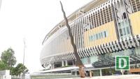 """Chuyện ít người biết về cây kiếm """"khổng lồ"""" trước cổng sân vận động Bukit Jalil"""