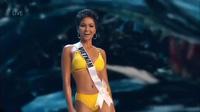 H'hen Niê tự tin sải bước thi bikini ở bán kết Hoa hậu Hoàn vũ 2018