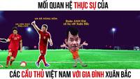 """Xuân Bắc """"nhận họ"""" với đội tuyển Việt Nam"""