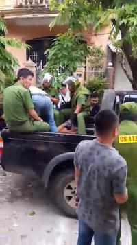 Khống chế đối tượng nghi ngáo đá tại TP Huế sáng 18/9