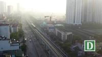 Dự án đường sắt Cát Linh - Hà Đông ngày đầu vận hành thử liên động toàn hệ thống