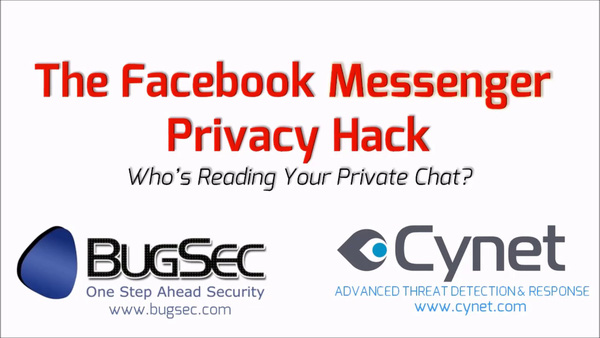 Một lỗi đơn giản cho phép hacker đọc được tin nhắn Facebook