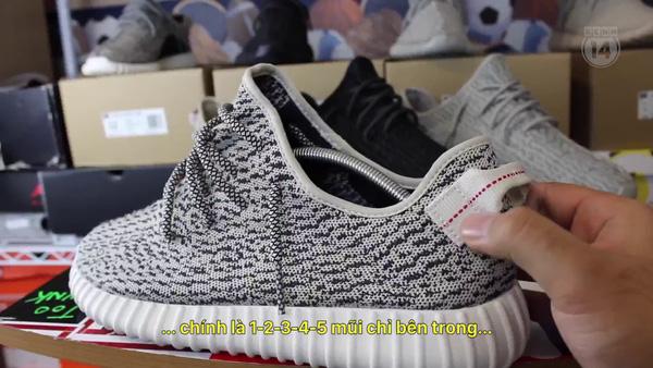 5ff6b574161 Giày Yeezy 350 có rất nhiều hàng fake