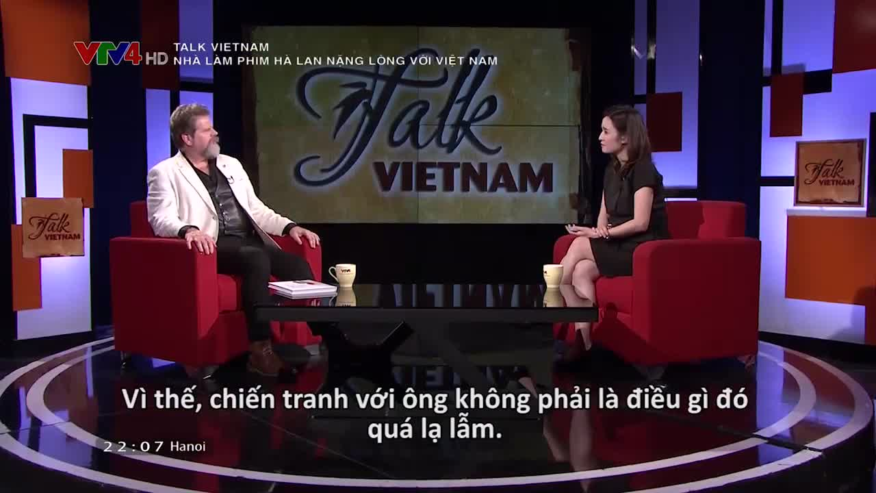 Talk Vietnam: Dutch filmmaker is attached to Vietnam
