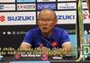 """HLV Park Hang Seo: """"Tôi thất vọng vì các cầu thủ đã bỏ lỡ nhiều cơ hội"""""""