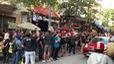 Cổ động viên Malaysia làm náo loạn đường phố Hà Nội
