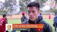 """Tiền vệ Bùi Tiến Dụng: """"Sau khi xem đội tuyển Nhật Bản đá, em chỉ biết động viên anh Dũng và đội tuyển Việt Nam"""""""
