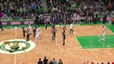 celtics fan throws beer onto court after kemba walker gets ejected