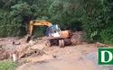 Sạt lở nghiêm trọng trên các tuyến đường của huyện Tu Mơ Rông (Kon Tum)