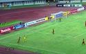 Thủ thành Y Eli Nie tiếp tục cứu thua xuất sắc ở phút 47