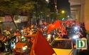 Cổ động viên Hà Nội phấn khích với chức vô địch sau 10 năm của tuyển Việt Nam