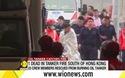 Hong Kong giải cứu các thuyền viên sau vụ cháy tàu dầu Việt Nam