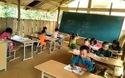 """Điểm trường """"lộng gió"""" Huổi Dên, Trường PTDTBT TJ và THCS Nà Ớt, xã Nà Ớt, huyện Mai Sơn, tỉnh Sơn La"""