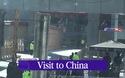 Đoàn xe hùng hậu tháp tùng ông Kim Jong-un tại Trung Quốc