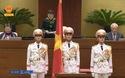 Chủ tịch nước Nguyễn Phú Trọng tuyên thệ