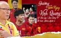 Hàng chục nghệ sĩ hát cổ vũ đội tuyển Việt Nam trong trận lượt về chung kết AFF Cup 2018